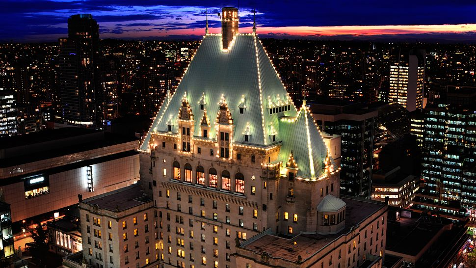 The Fairmont Hotel Vancouver British Columbia Canada