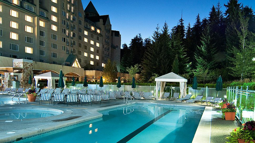 The fairmont chateau whistler british columbia canada for Visa hotel luxury collection