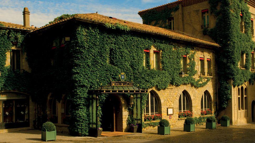 H tel de la cit aude languedoc roussillon for Hotels carcassonne