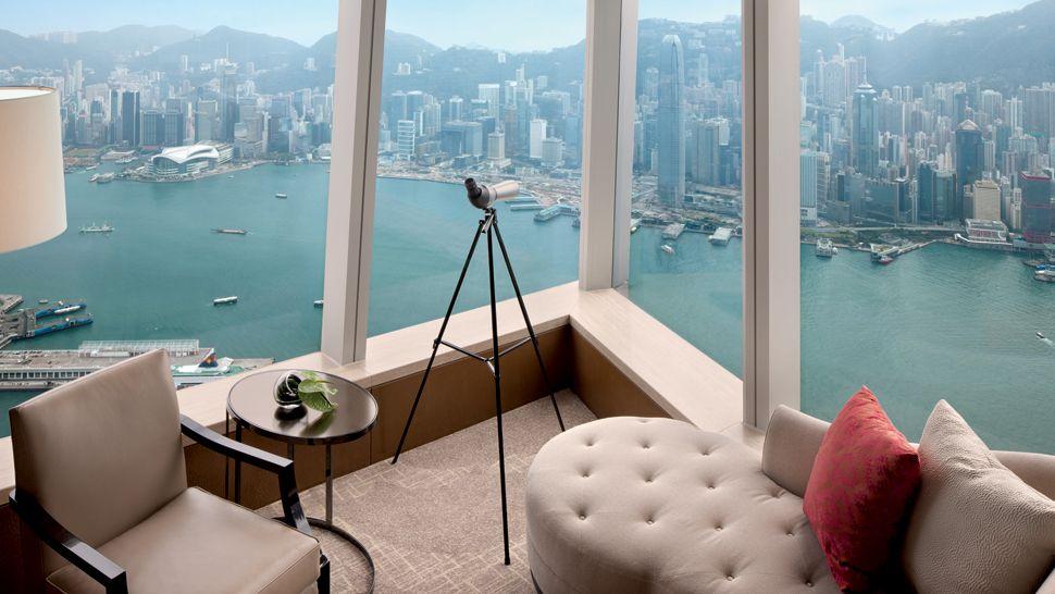 The ritz carlton hong kong hong kong s a r china for Top design hotels in the world