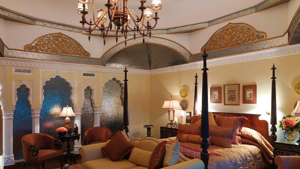 Rambagh palace jaipur rajasthan india for Decor india jaipur