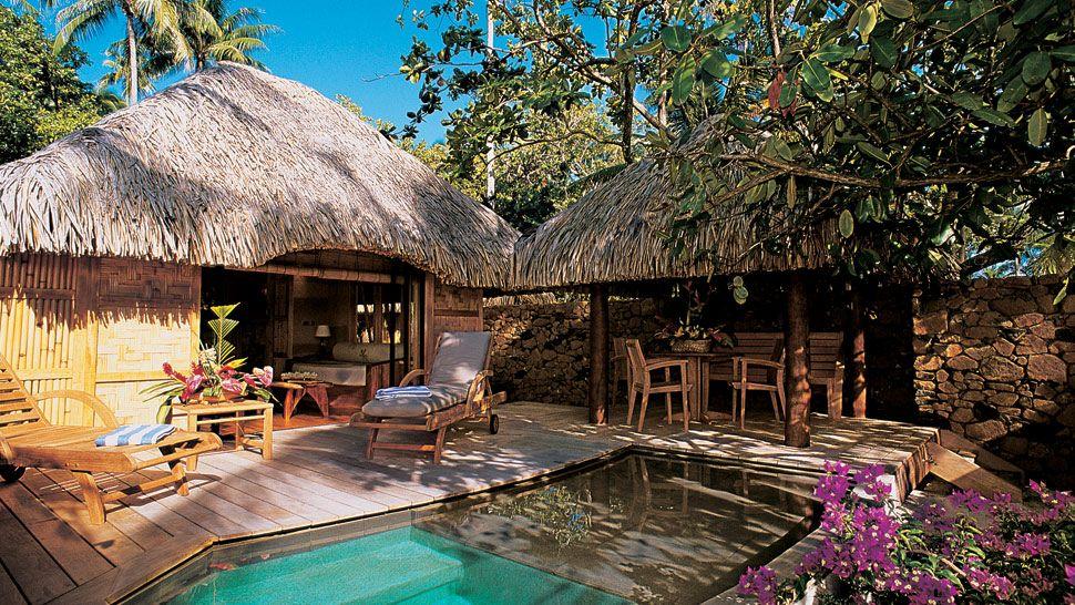 Le taha 39 a island resort spa islas de la sociedad for Villas francesas