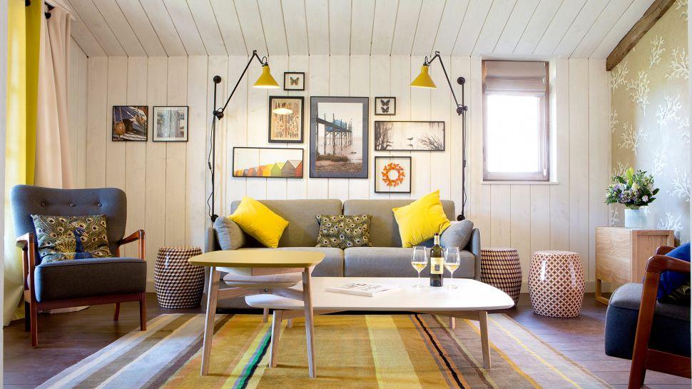 Emejing Salon Marocain Jaune Et Bleu Pictures - Amazing House ...