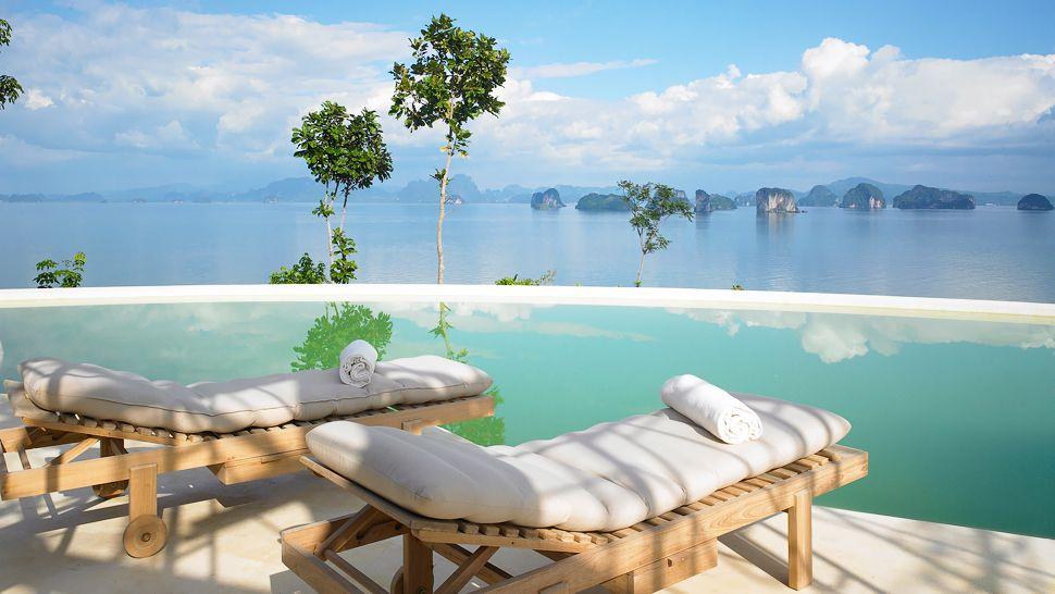 亚洲 泰国 普吉岛 阁遥岛  最优惠房价保证 抵达时的自动客房升级(视