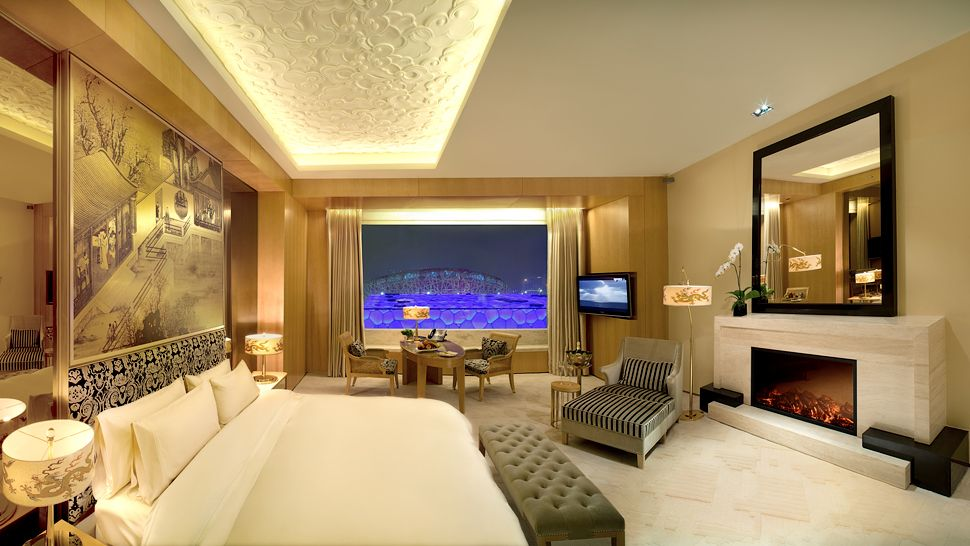 Pangu 7 star hotel beijing beijing china for 5 star bedroom designs