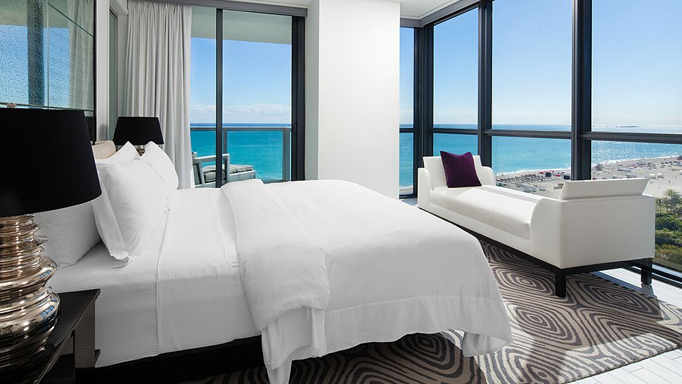 W south beach miami florida for 20 room hotel design