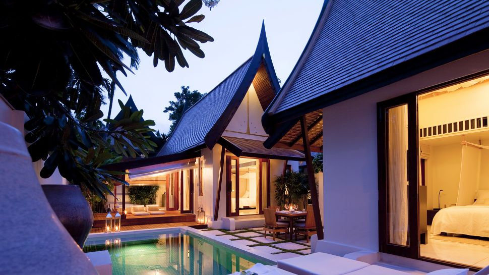 Sala samui resort and spa surat thani thailand for Design hotel koh samui