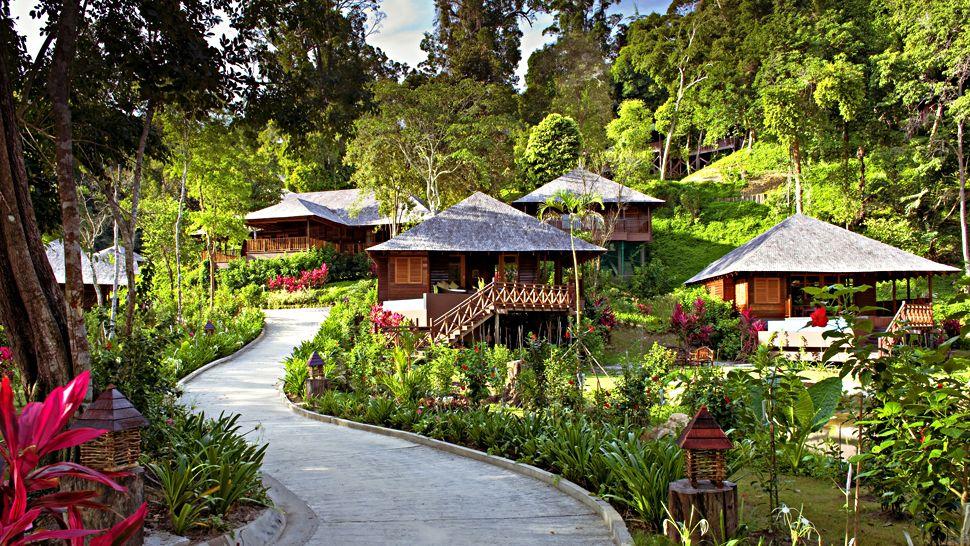 Bunga Raya Island Resort Amp Spa Sabah Borneo