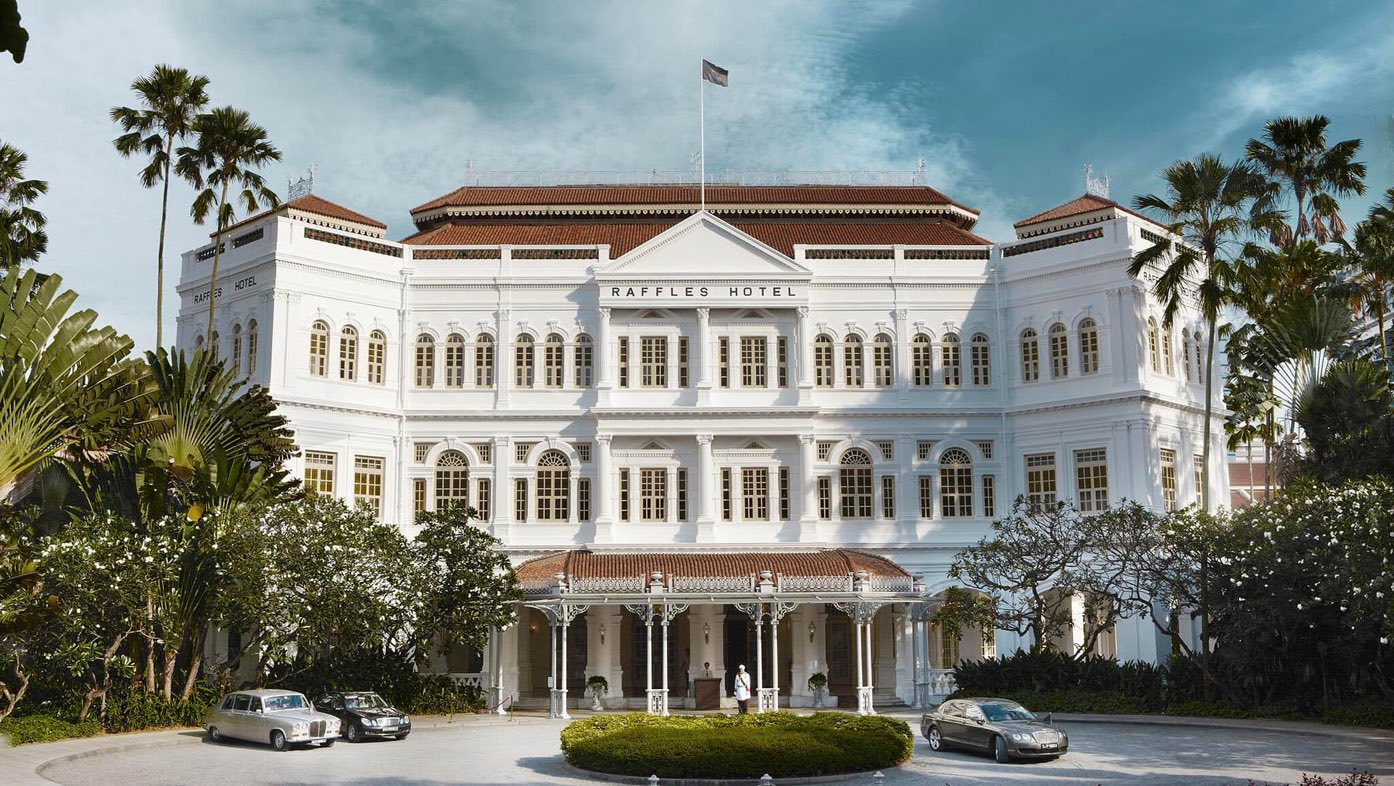 COMEBACK OF THE YEAR  Raffles Hotel Singapore  Singapore, exterior view, luxury hotel