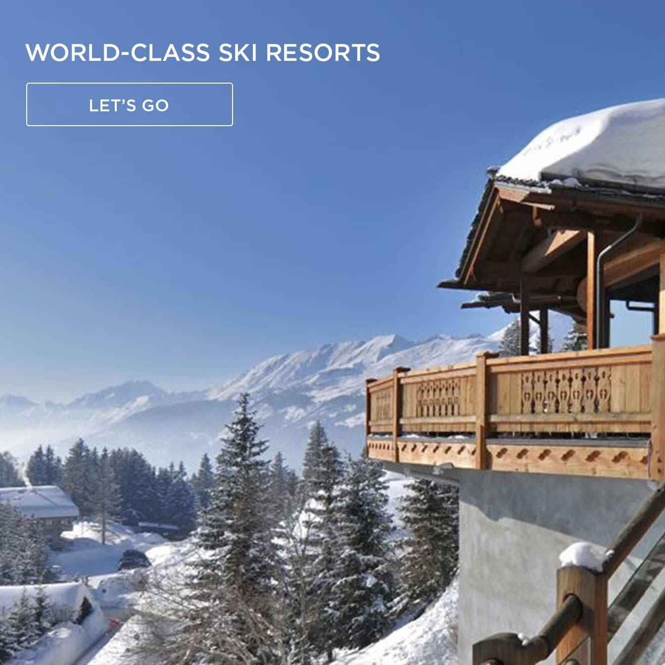 View the best ski resorts and hotels