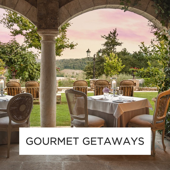 Luxury Gourmet Holidays and Hotels