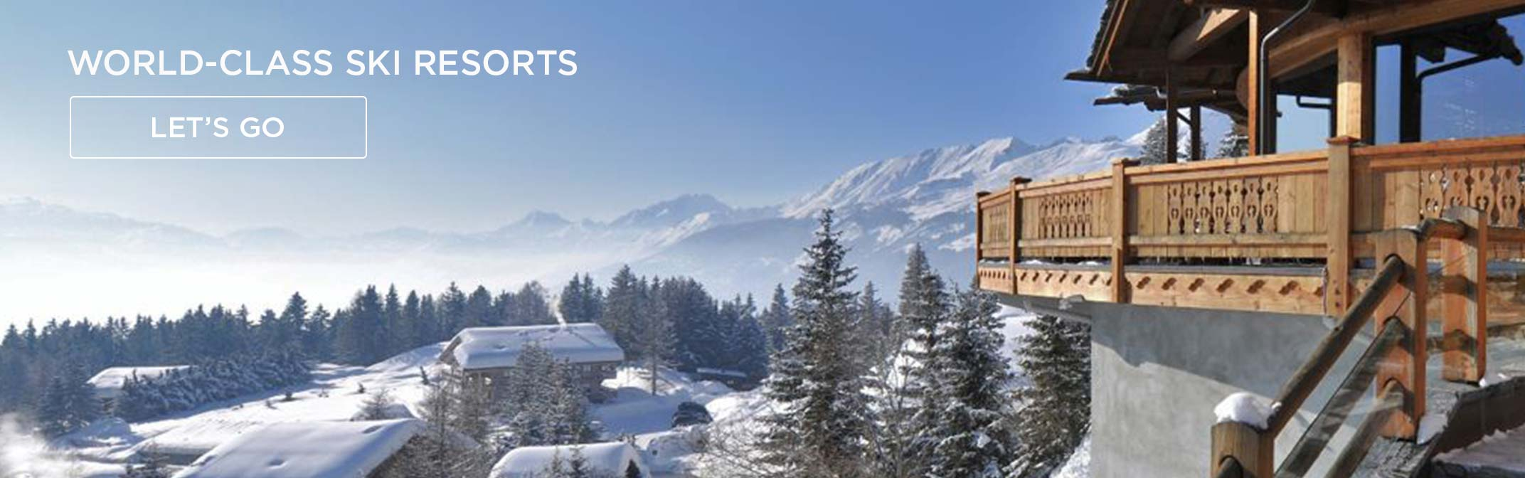 View the best ski resorts and hotels in our collection