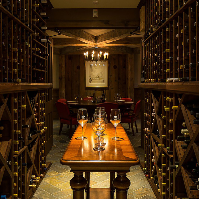 Hotels with seriously well-stocked wine cellars