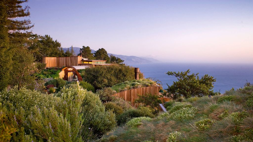 luxury eco-friendly hotels, sustainable travel, eco-friendly vacations, Post Ranch Inn California
