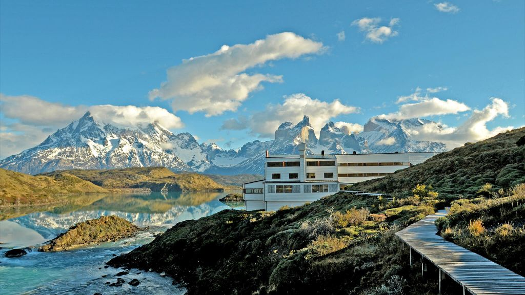 BEST ADVENTURE  Explora  Chile, exterior view, luxury hotel