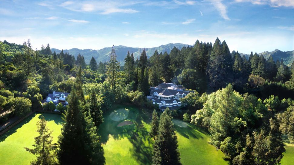 BEST GOURMET GETAWAY  Meadowood Napa Valley  United States, exterior view