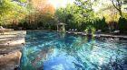outdoor rock pool