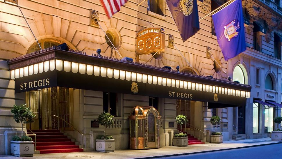The st regis new york new york united states for Hippest hotels in nyc