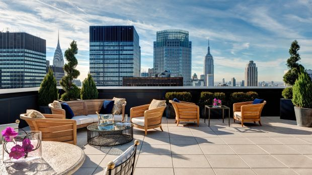 The Towers at Lotte New York Palace luxury hotels new york