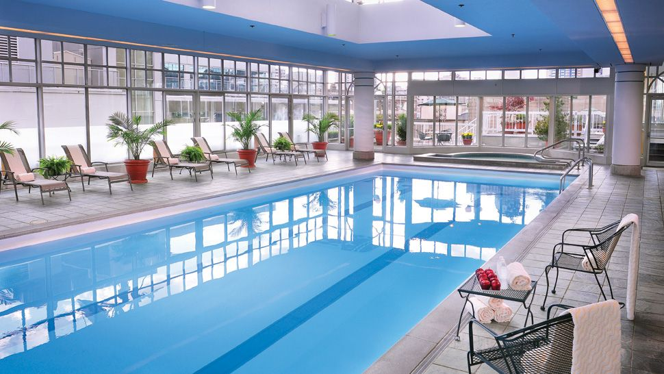 Fairmont hotel vancouver british columbia canada for Indoor swimming pools vancouver