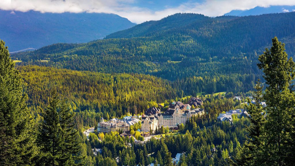 whistler, nature, family friendly, luxury hotels, forest view