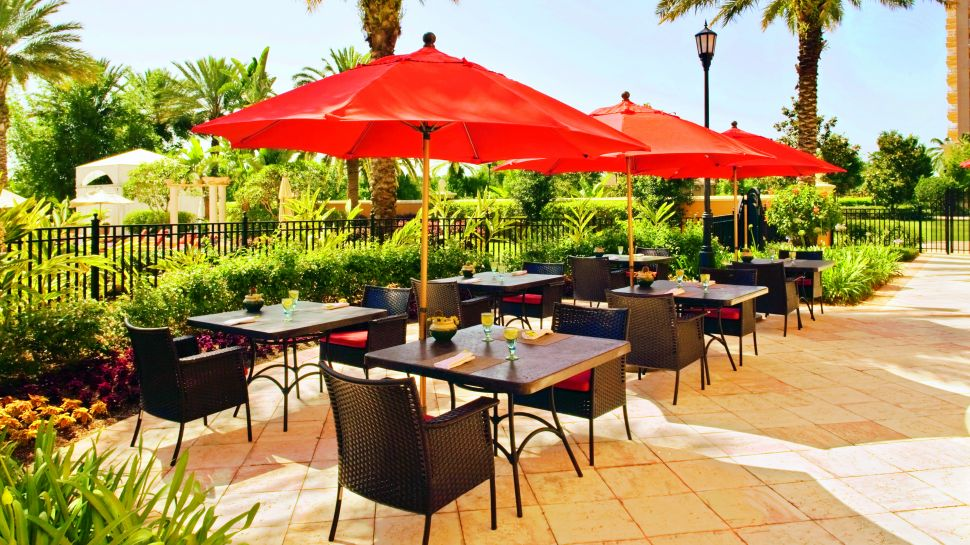 Delightful Outdoor Patio Dining Daytime