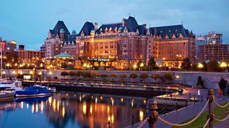 Fairmont Empress - Victoria, Canada