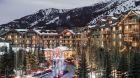 Exterior Winter Four Seasons Resort Jackson Hole