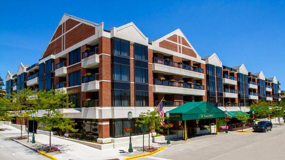 The Townsend Hotel, Detroit, Michigan