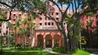 See more information about The Royal Hawaiian exterior pink daytime