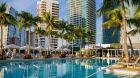 Pool  Four  Seasons  Miami.