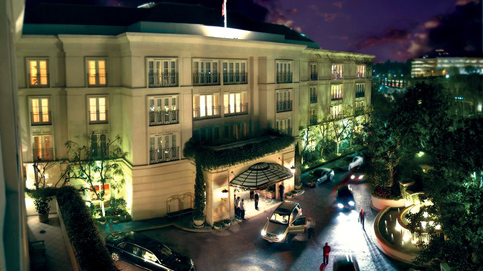 The Peninsula Beverly Hills Top Luxury Hotel In Greater