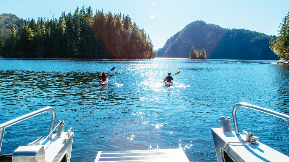 lake view, people on boats, whistler, nature, family friendly, luxury hotels
