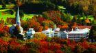exterior fall foliage
