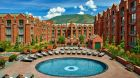 See more information about The St. Regis Aspen Resort The beautiful St Regis Aspen pool during summer