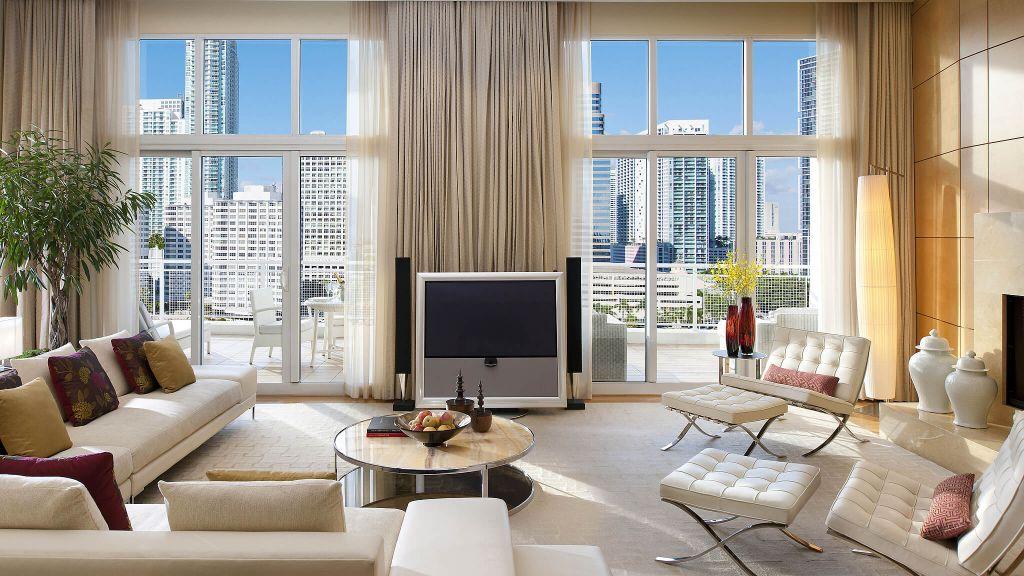 Interior Living Room Bar Photo Miami Beach
