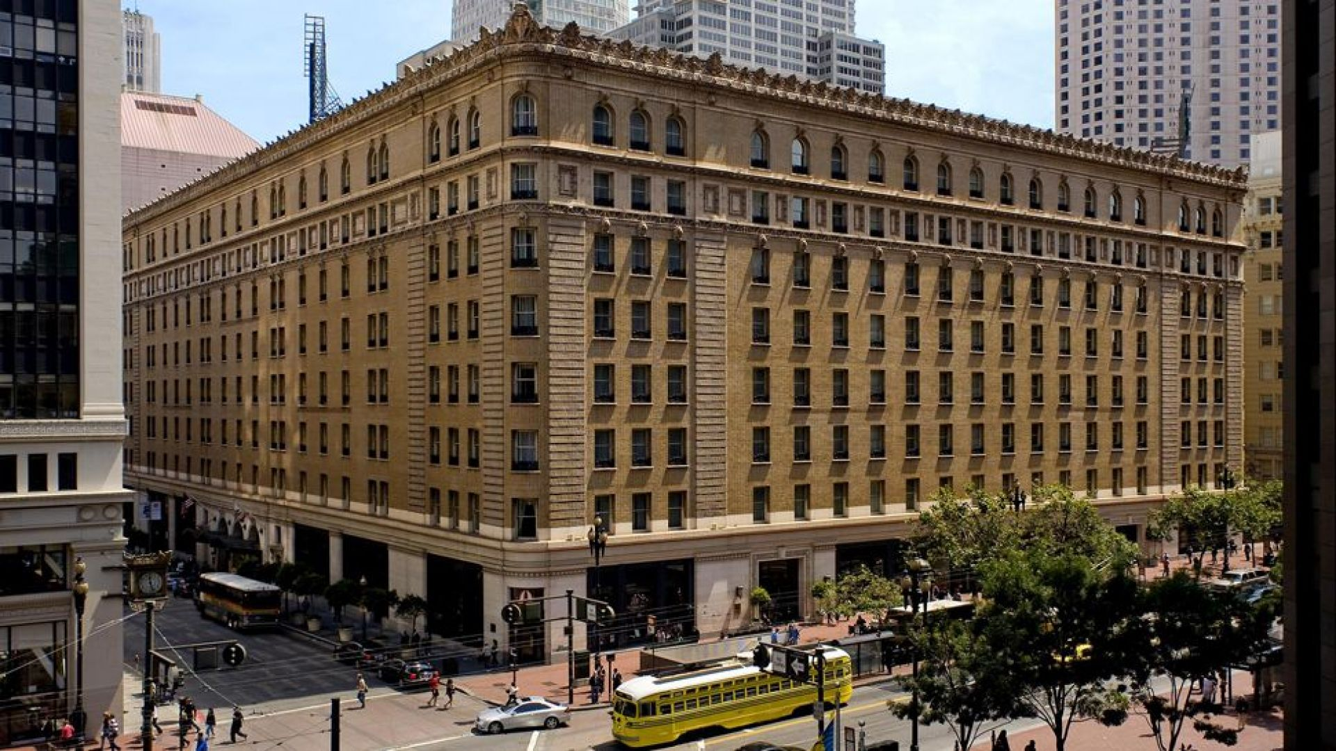 See More Information About Palace Hotel San Francisco Exterior Daytime