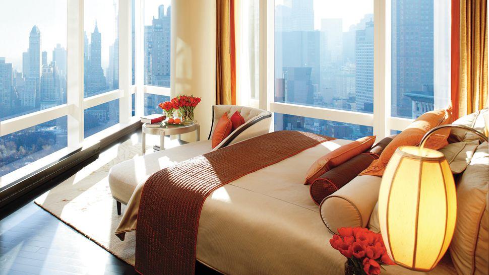 Mandarin oriental new york new york united states for 2 bedroom suite in new york city