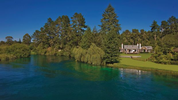 Huka Lodge — Taupo, New Zealand