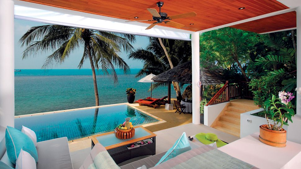 Belmond napasai surat thani thailand for Koh tao cabana koi pool villa