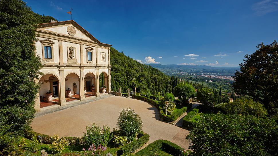 belmond villa san michele florence tuscany. Black Bedroom Furniture Sets. Home Design Ideas