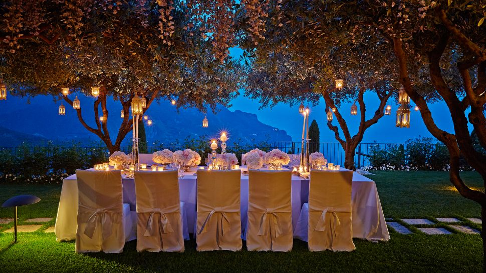 Night Time Dining At Belmond Hotel Caruso