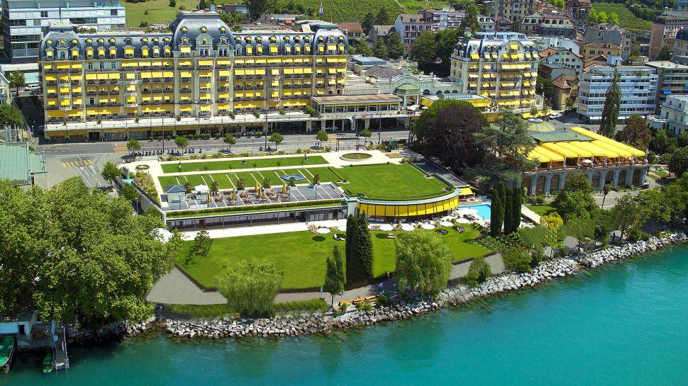 Fairmont le montreux palace lake geneva vaud for Visa hotel luxury collection
