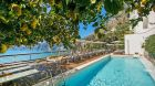 outdoor pool, lemon tree