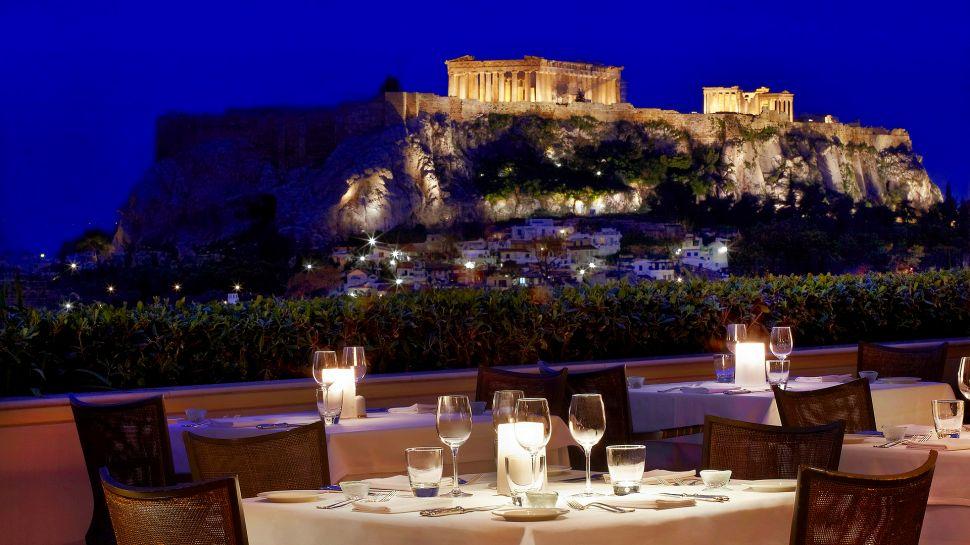 Hotel Grande Bretagne - Athens, Greece