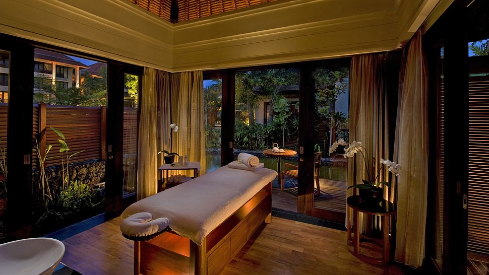 Conrad bali bali indonesia for Hotel spa design