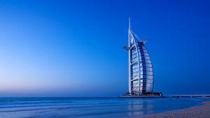 Burj Al Arab, top luxury hotel in Dubai