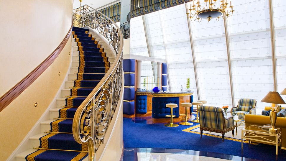 Burj al arab dubai united arab emirates for Burj al arab presidential suite