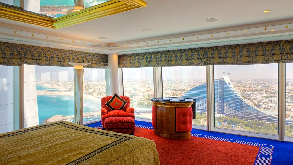 Burj al arab dubai united arab emirates for Burj khalifa room rates per night