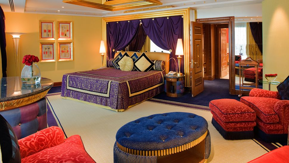 Burj al arab dubai united arab emirates for Most expensive hotel room in dubai
